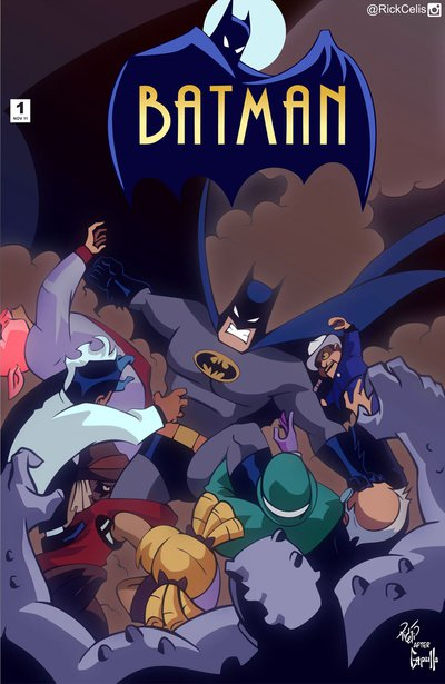 Batman New 52 - TAS 01