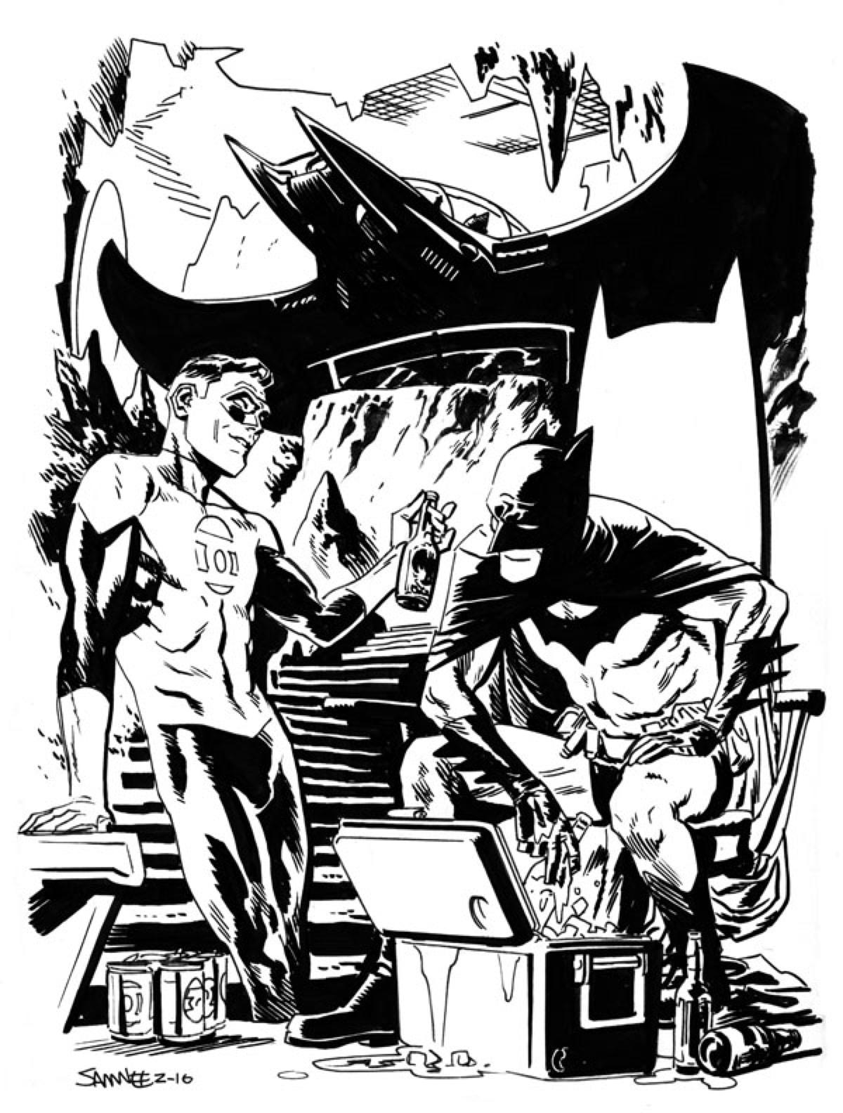 Green Lantern et Batman