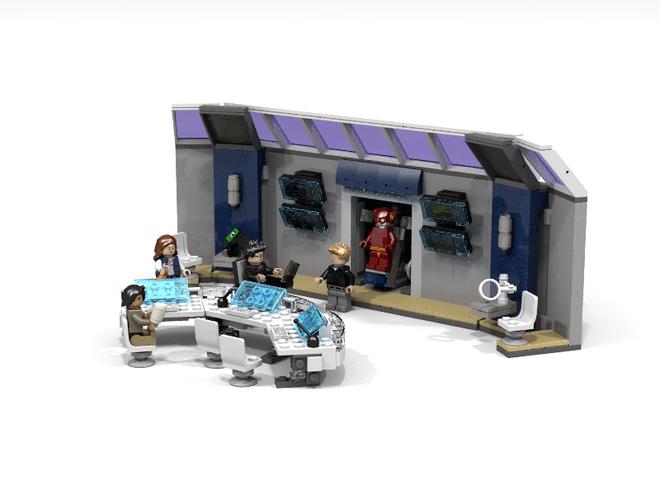 Un Set The Flash STAR Labs Propos Sur Lego Ideas