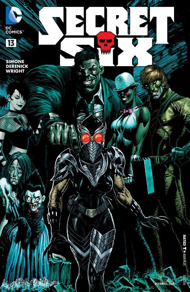 review SECRET SIX #13