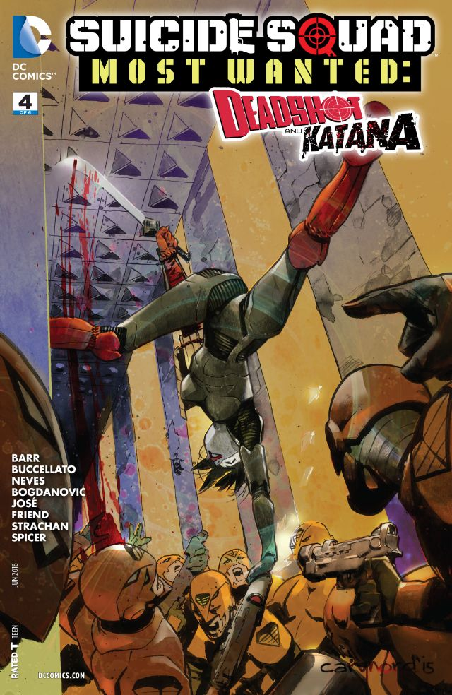 review SUICIDE SQUAD MOST WANTED : DEADSHOT & KATANA #4