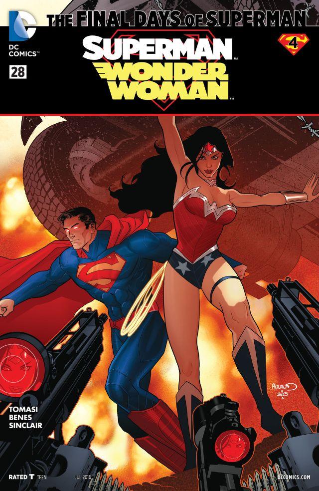 review SUPERMAN/WONDER WOMAN #28