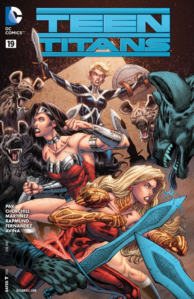 review TEEN TITANS #19