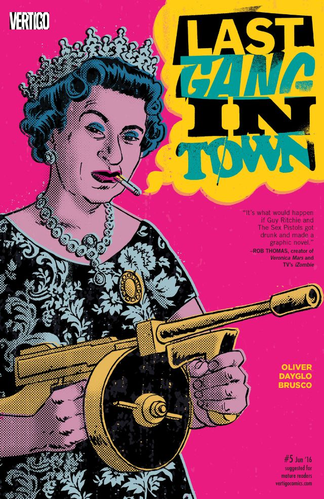 review LAST GANG IN TOWN #5