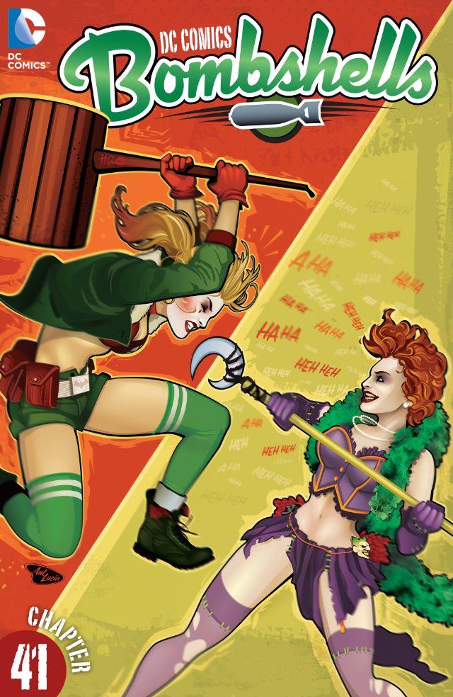 review DC COMICS : BOMBSHELLS #41
