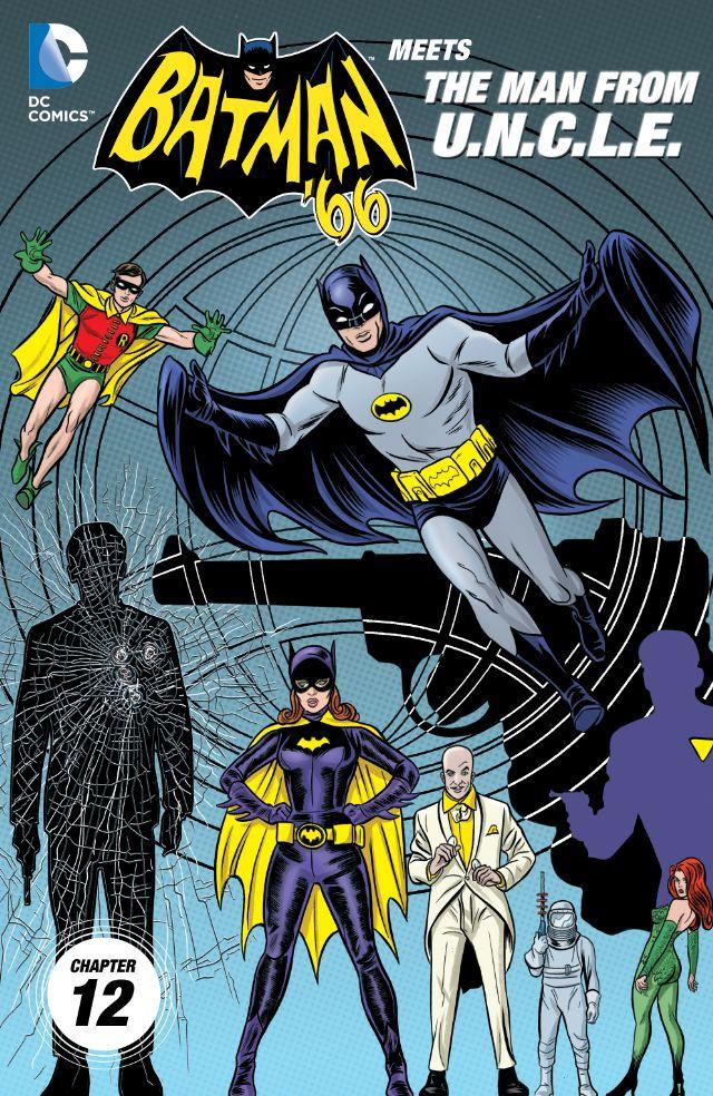 review BATMAN '66 MEETS THE MAN FROM U.N.C.L.E. #12