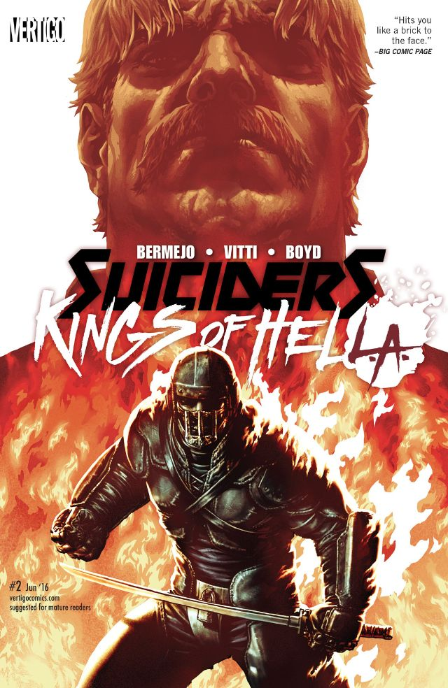 review SUICIDERS : KINGS OF HELL.A. #2