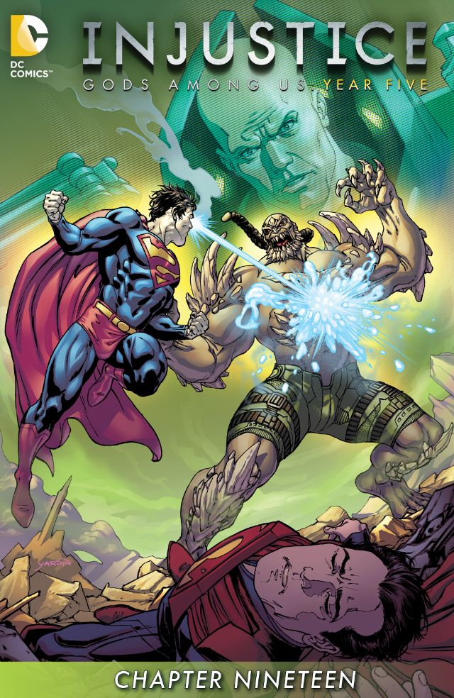 review INJUSTICE : GODS AMONG US YEAR FIVE #19