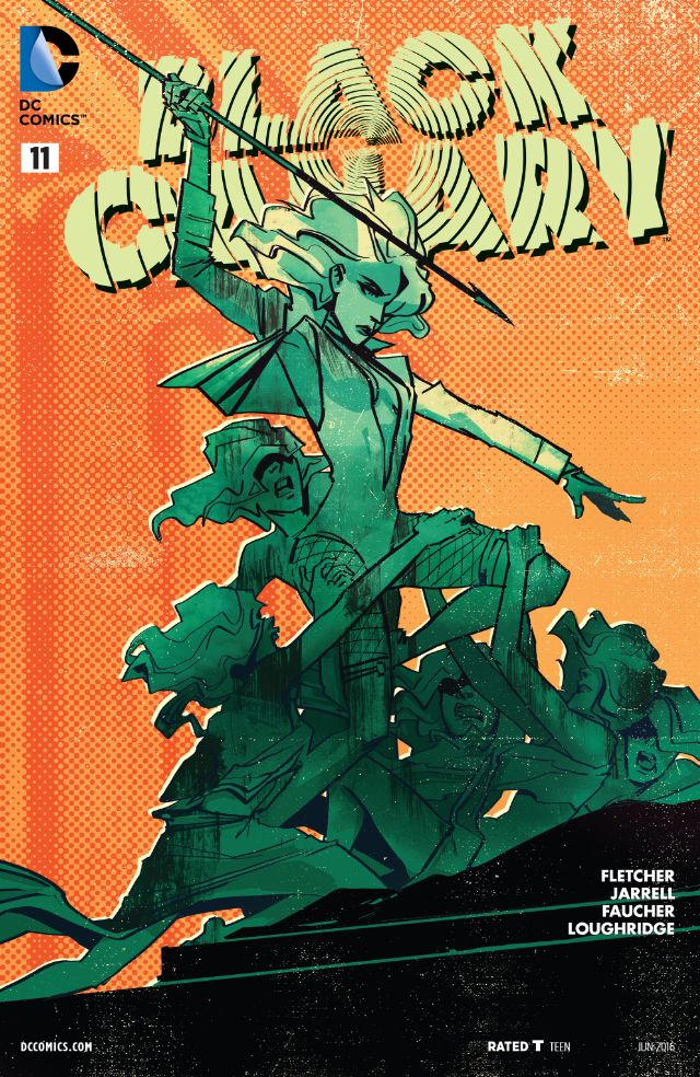 review BLACK CANARY#11