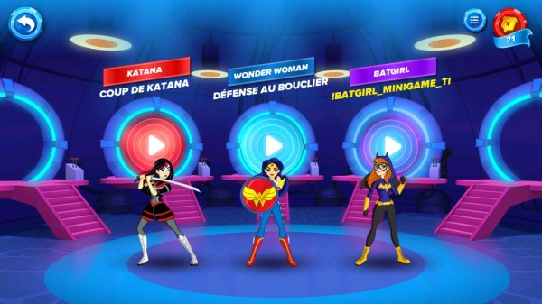 Test – DC Super Hero Girls