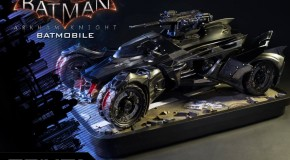 Prime 1 Studios dévoilent leur statuette de la Batmobile façon Arkham Knight