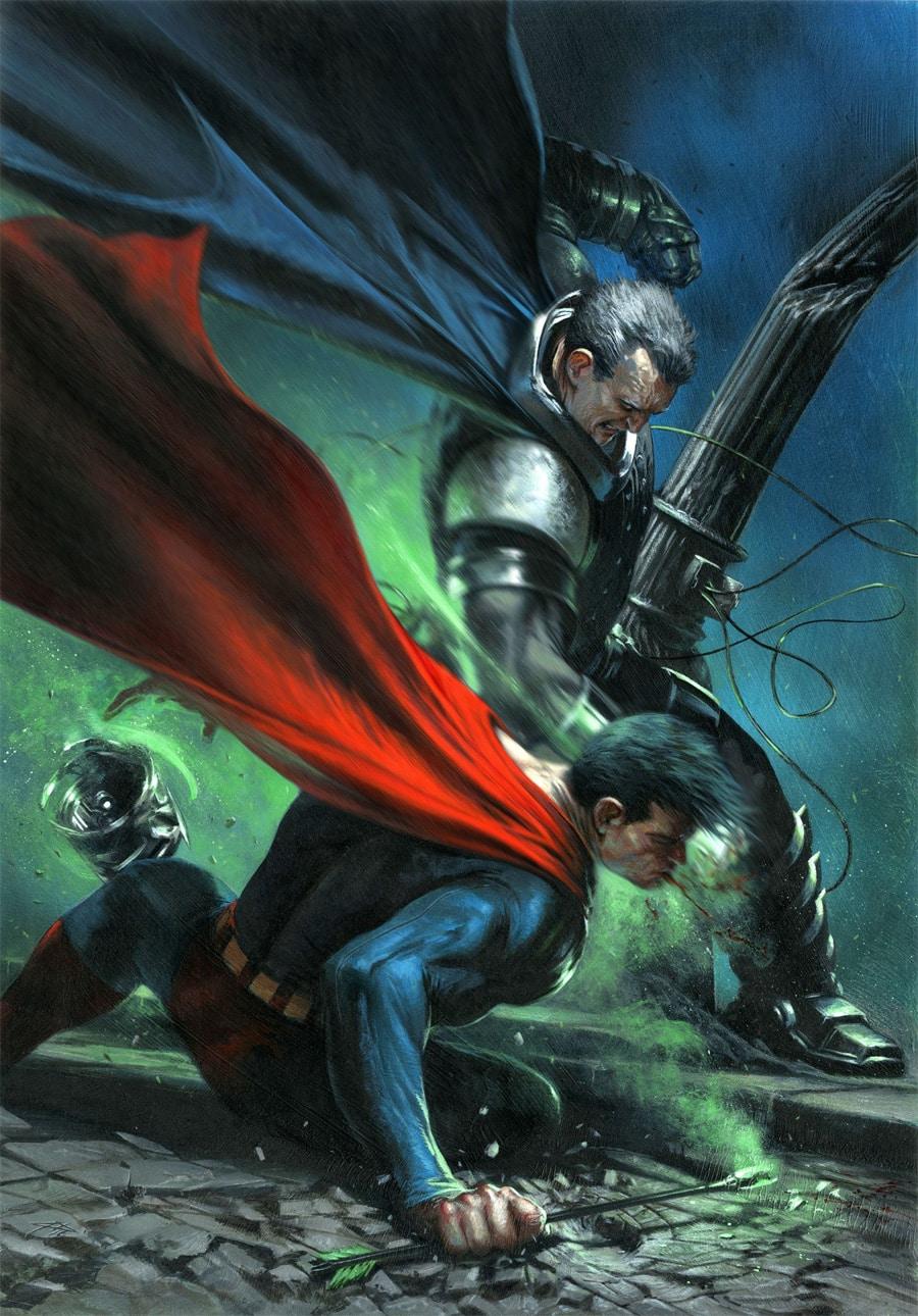 Gabriele dell 39 otto signe quelques variantes pour dc comics - Signe de superman ...