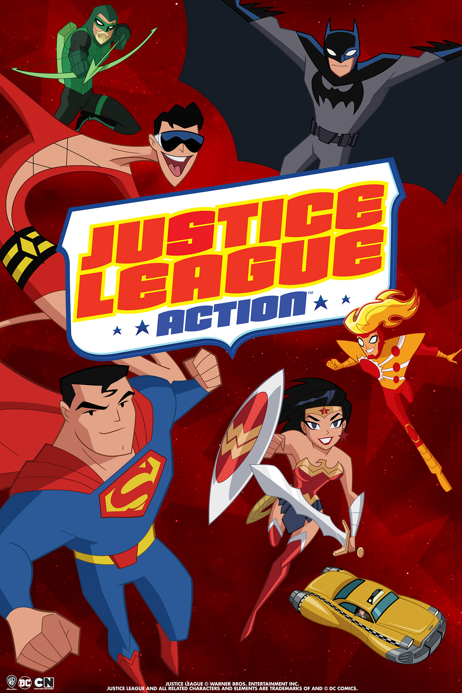 review JUSTICE LEAGUE ACTION S01E18