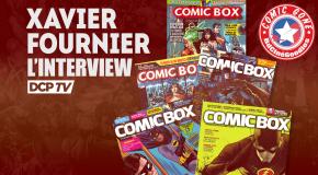 Lyon Comic'Gone 2016 - L'interview vidéo de Xavier Fournier (Rédacteur en chef de Comic Box)