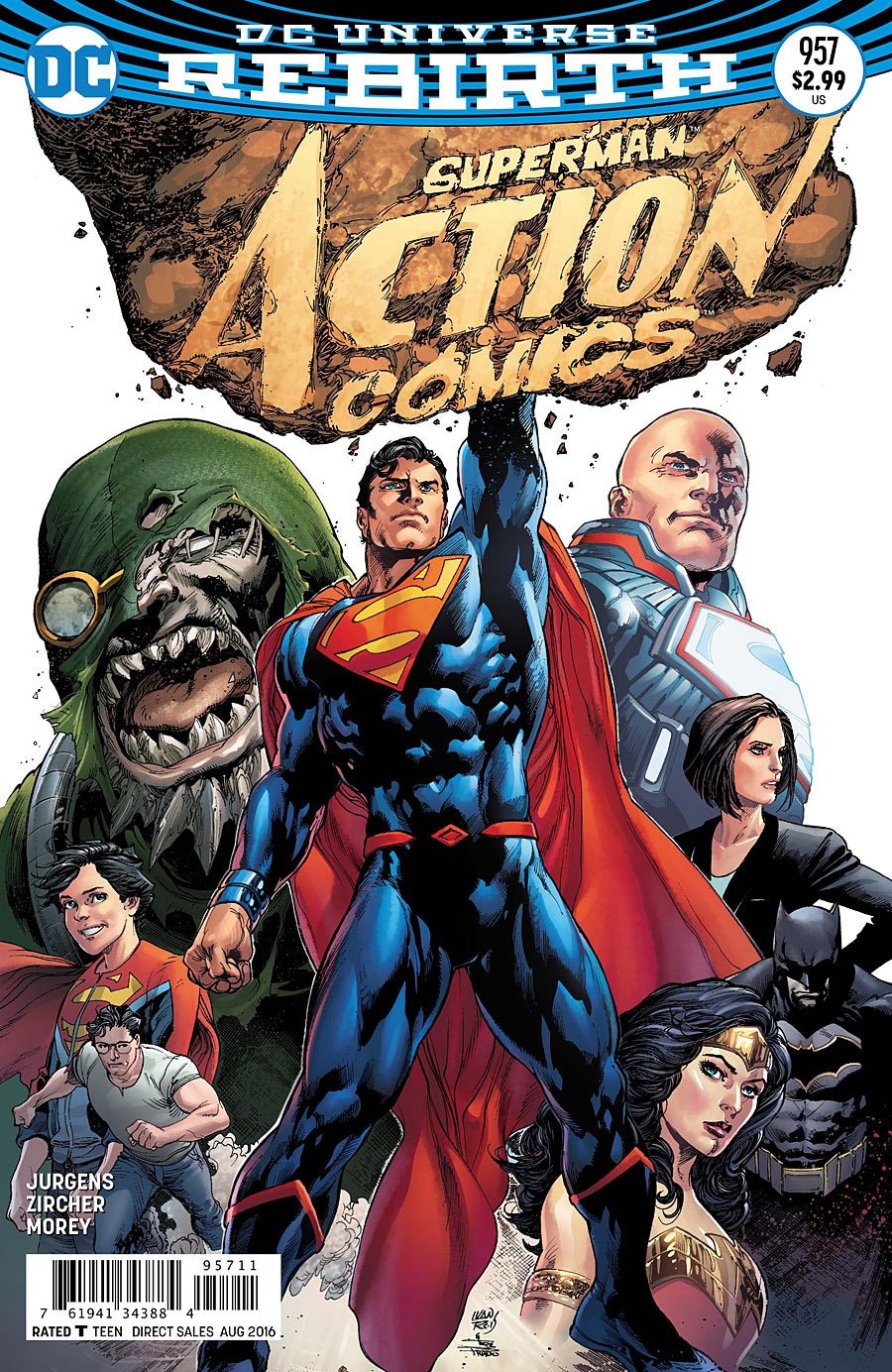 Review VO - Action Comics #957 1