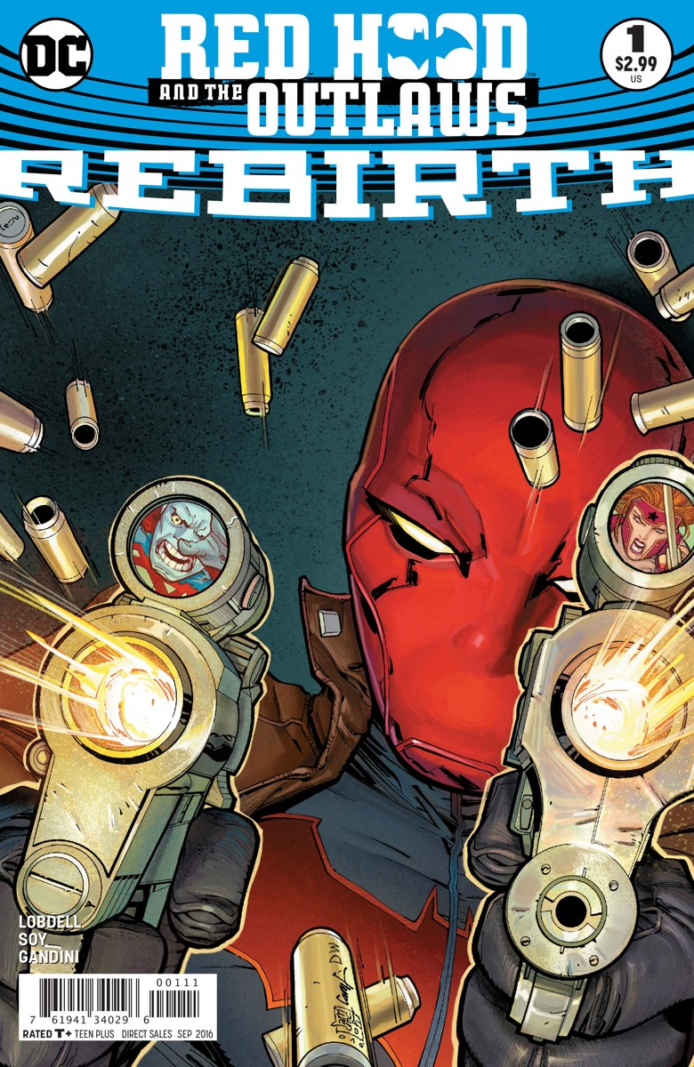 Red Hood and the Outlaws : Rebirth #1 review