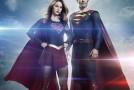 Superman en action dans une vidéo du tournage de Supergirl