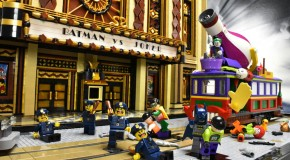 Un fan construit un diorama de Batman en Lego
