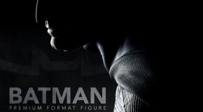 Sideshow révèle sa statuette du Batman du DCEU