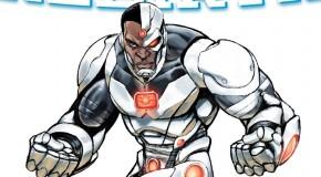 Un premier aperçu de Cyborg : Rebirth #1
