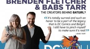 Brenden Fletcher et Babs Tarr (Batgirl, Gotham Academy) seront présents au Comic Con Paris 2016