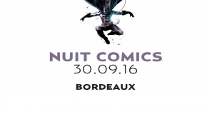 Rencontrez Jock à la Nuit Comics de Bordeaux le 30 septembre prochain