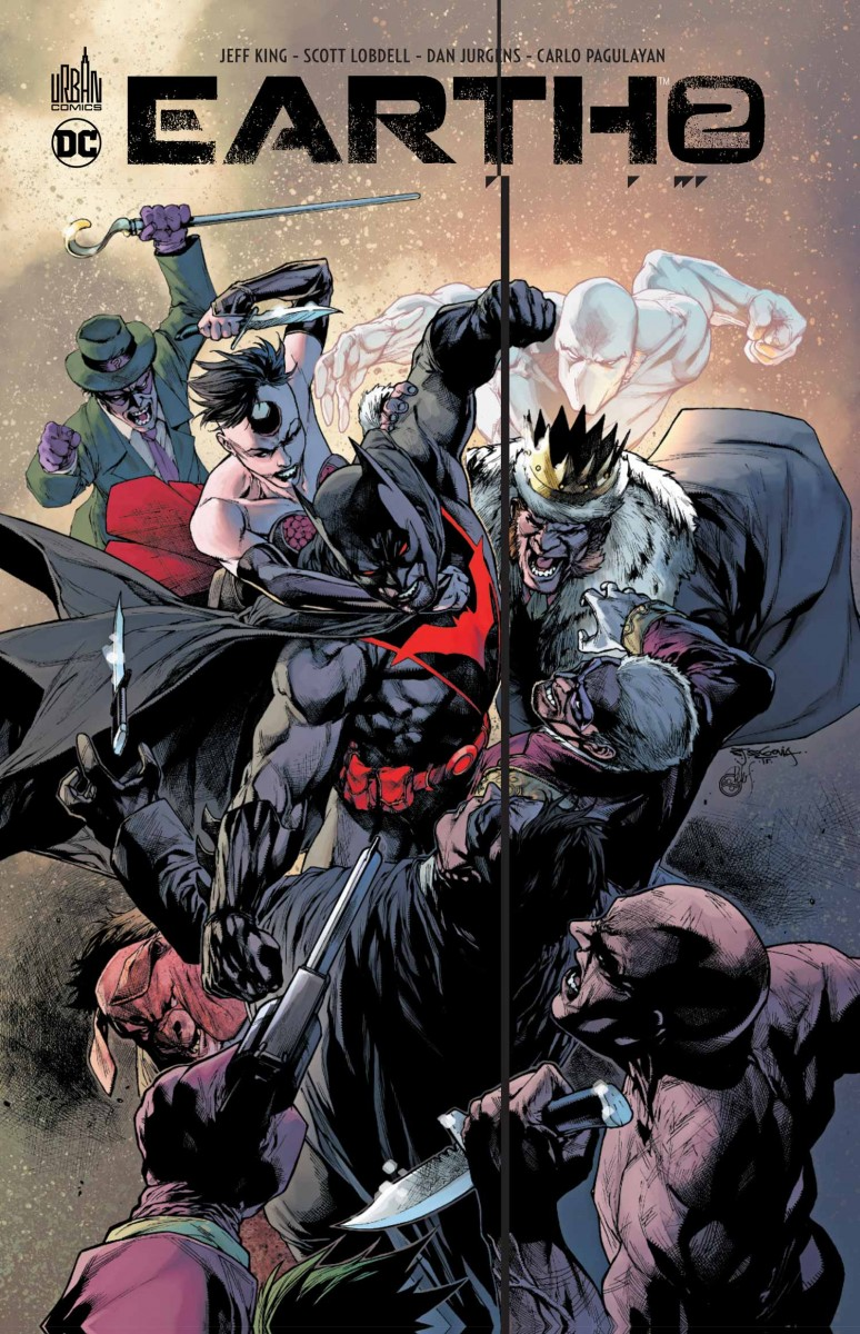Review VF - Earth-2 Tome 6 : Convergence 27