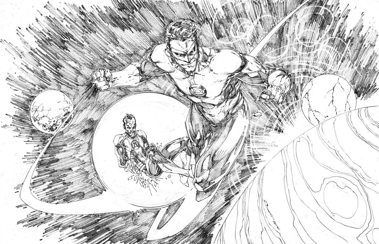 Hal Jordan et Sinestro
