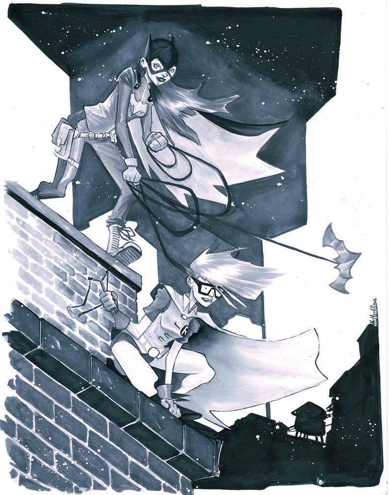 Batgirl et Robin