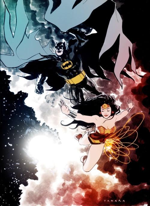 Batman et Wonder Woman