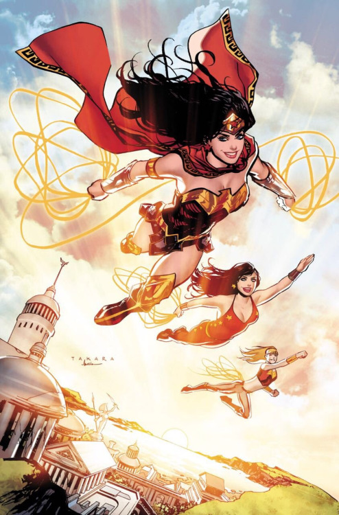 Wonder Woman, Donnay Troy et Wonder Girl