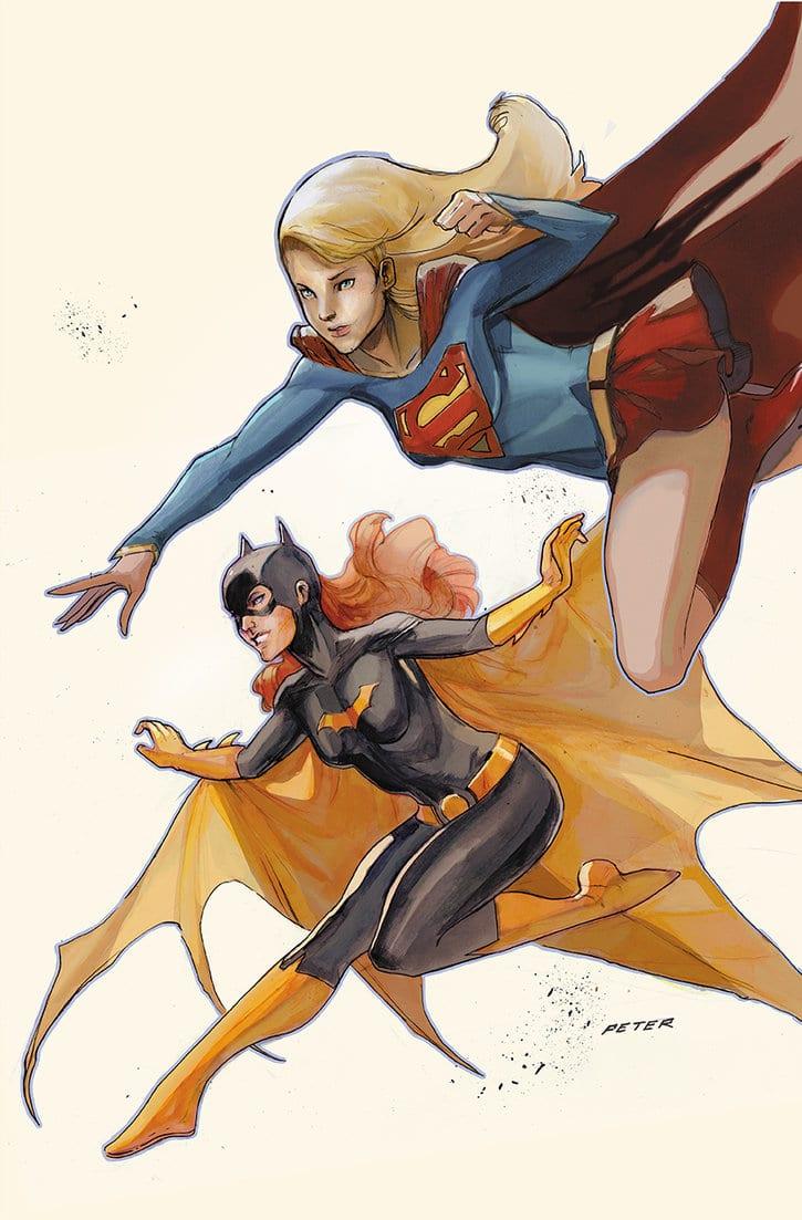Batgirl et Supergirl