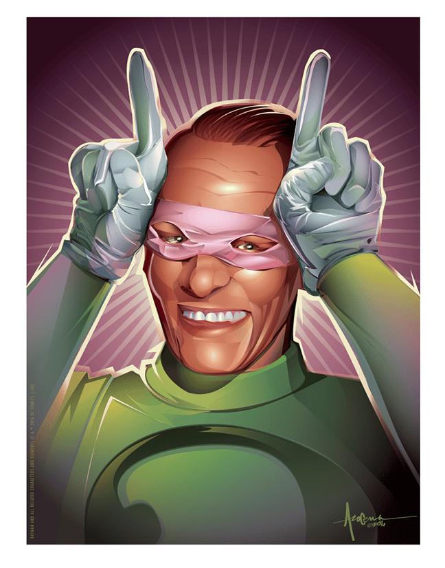 Batman 66 Villains - Nigma