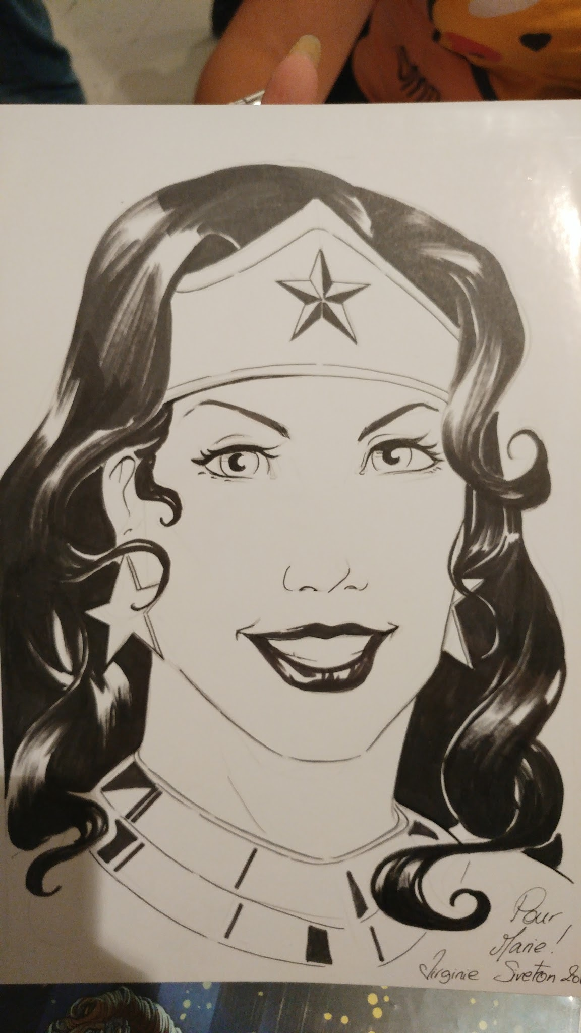 lille fisse Wonder Woman pornostjerne