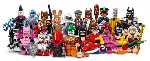 La série complète de minifigs The Lego Batman Movie dévoilée