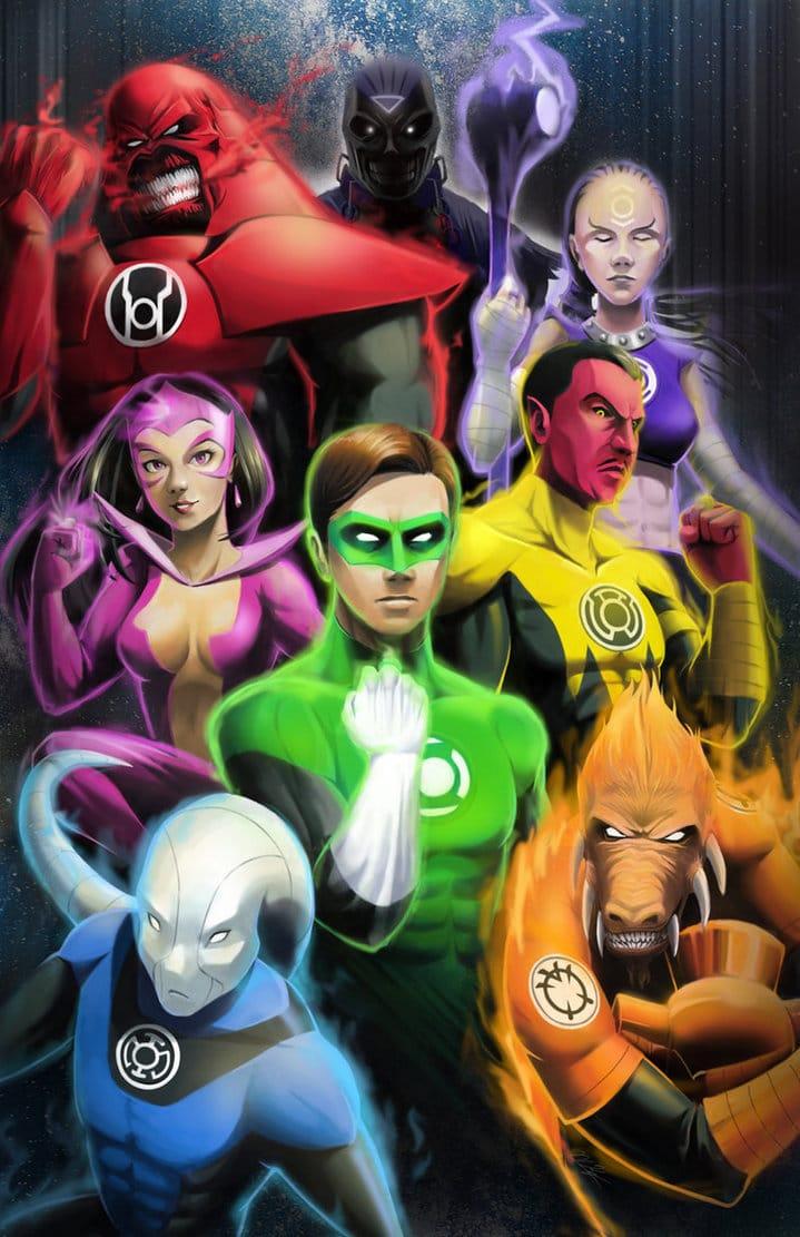 DC Lanterns