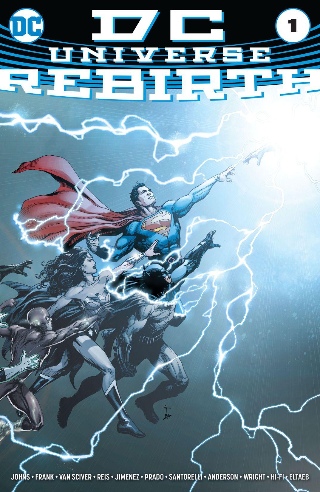 DC Universe : Rebirth #1