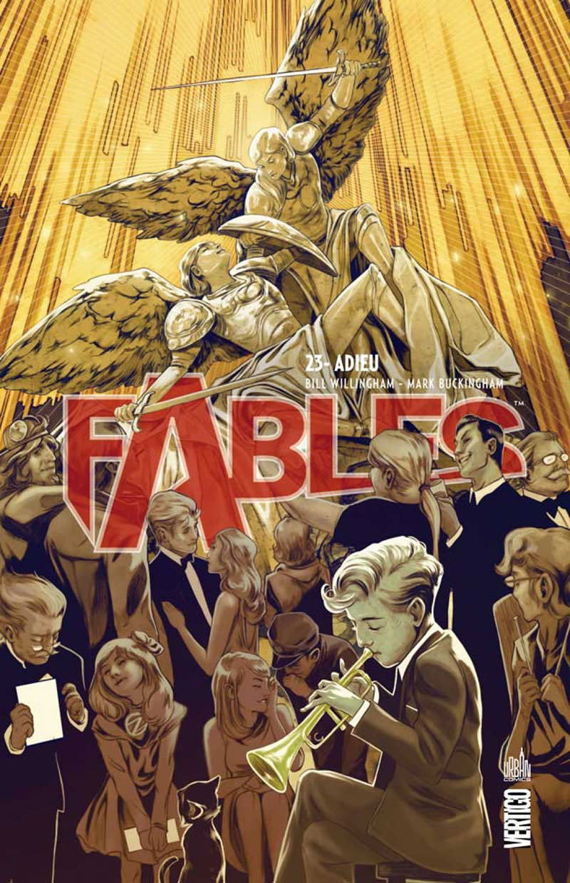 Review VF - Fables Tome 23 : Adieu