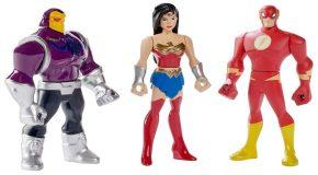 Une première gamme d'action figures pour Justice League Action
