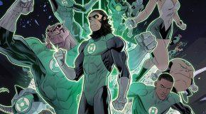Le crossover Planet of the Apes/Green Lantern se dévoile en images
