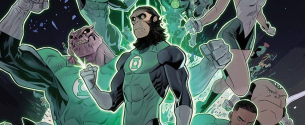 Le crossover Planet of the Apes/Green Lantern se dévoile en images