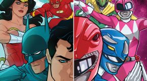 Review VO - Justice League/Power Rangers #1
