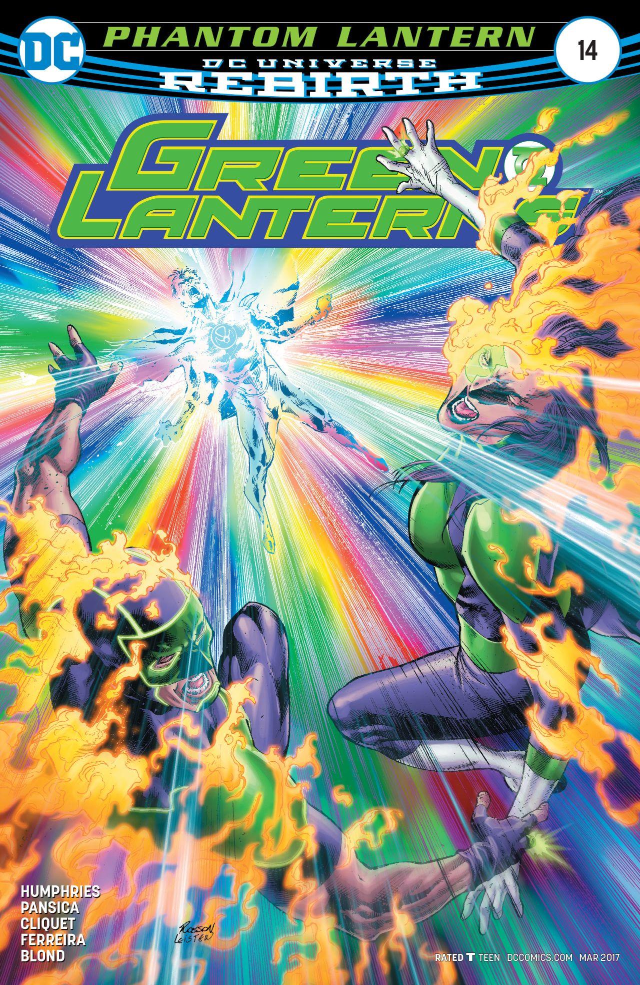 review GREEN LANTERNS #4