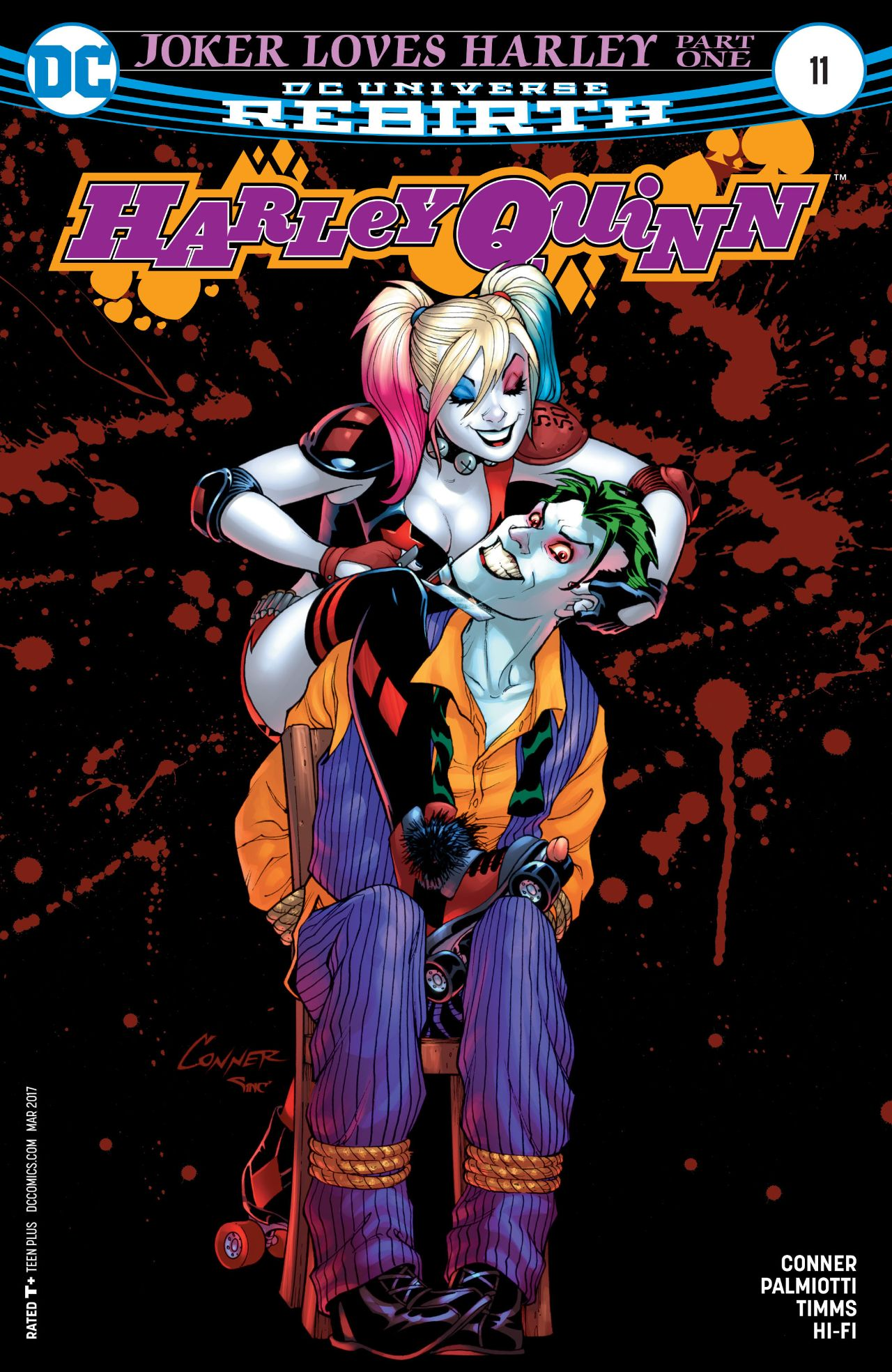 review HARLEY QUINN #11