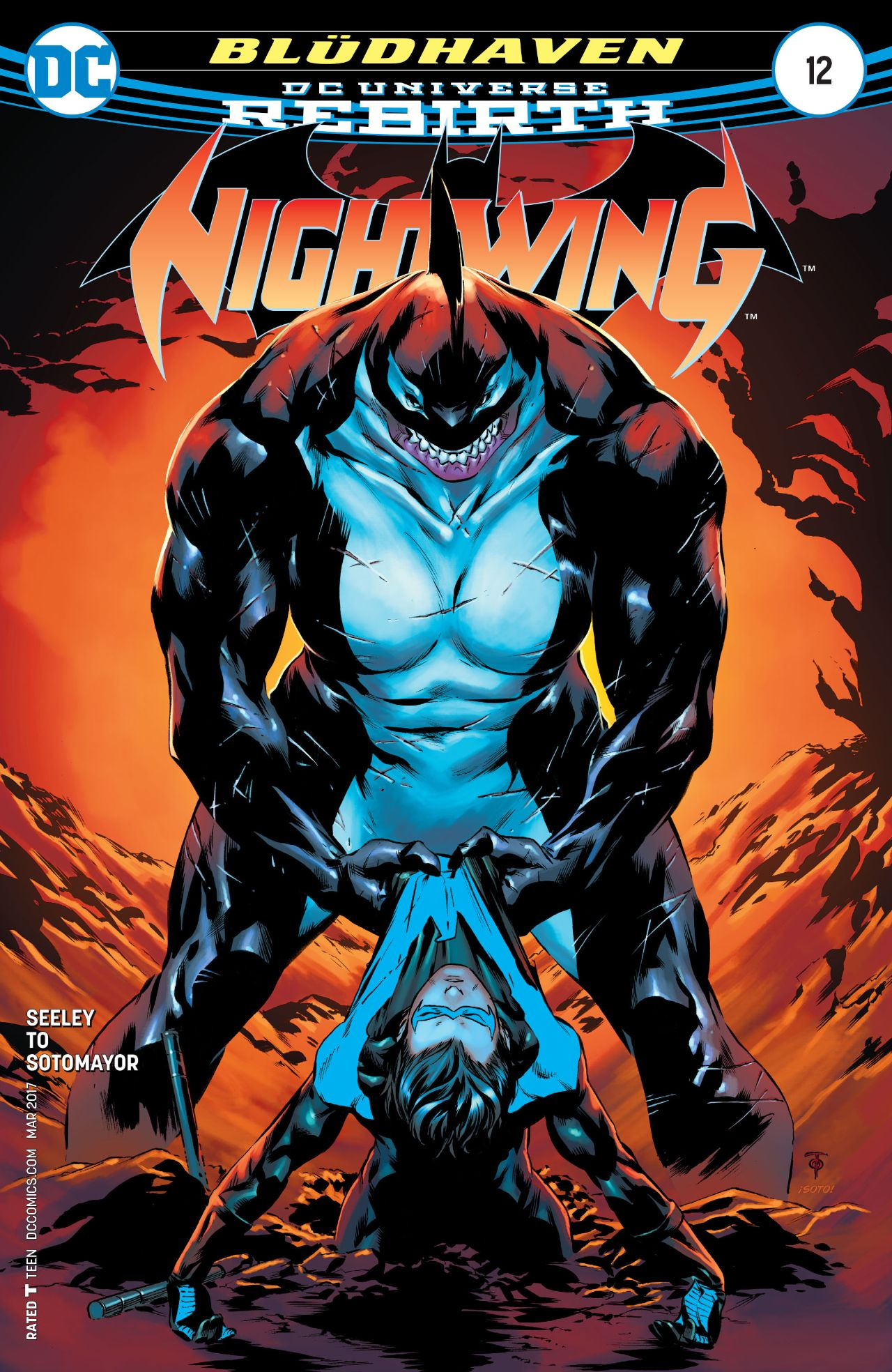 review NIGHTWING #12