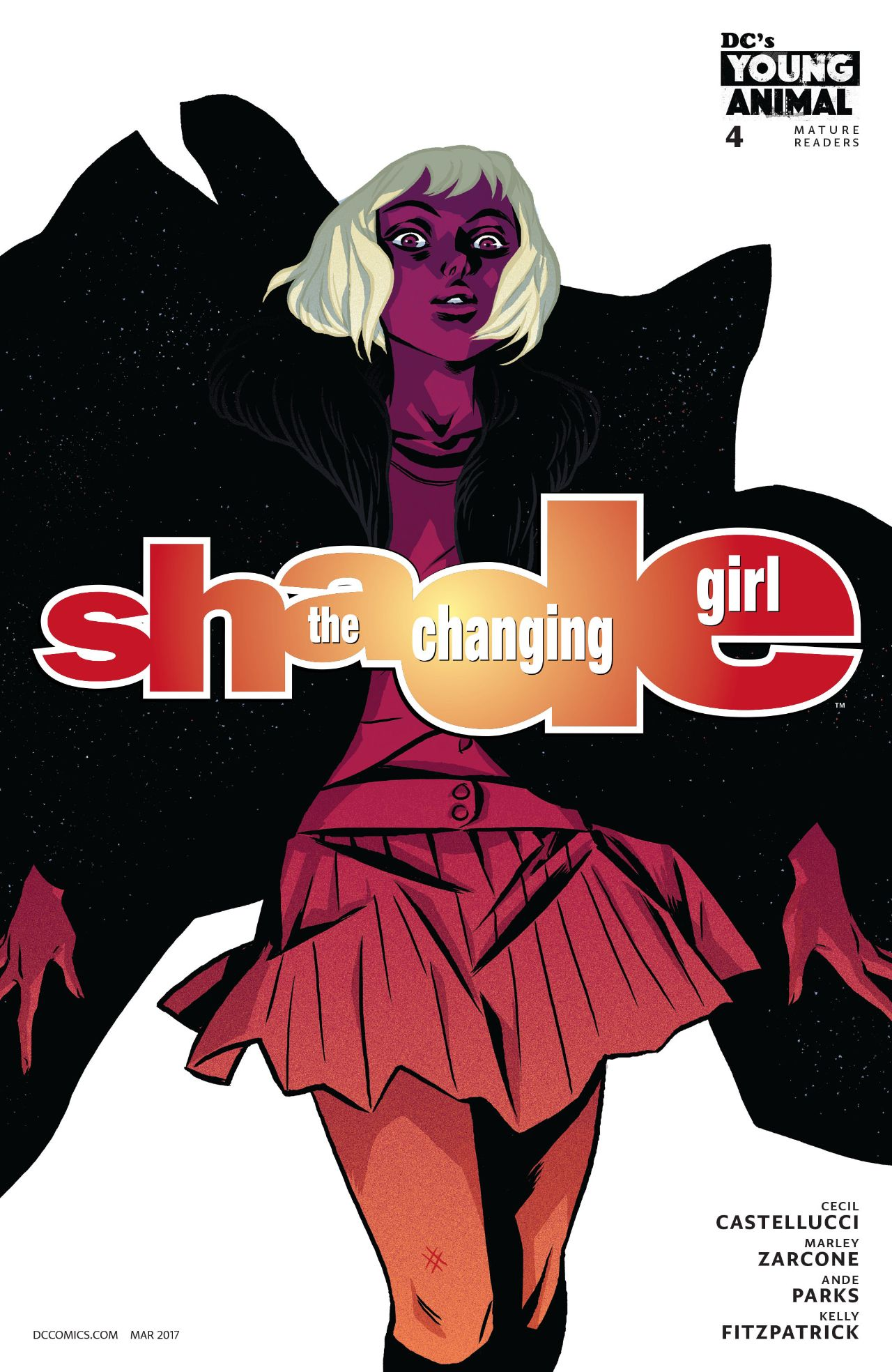 review SHADE, THE CHANGING GIRL #4