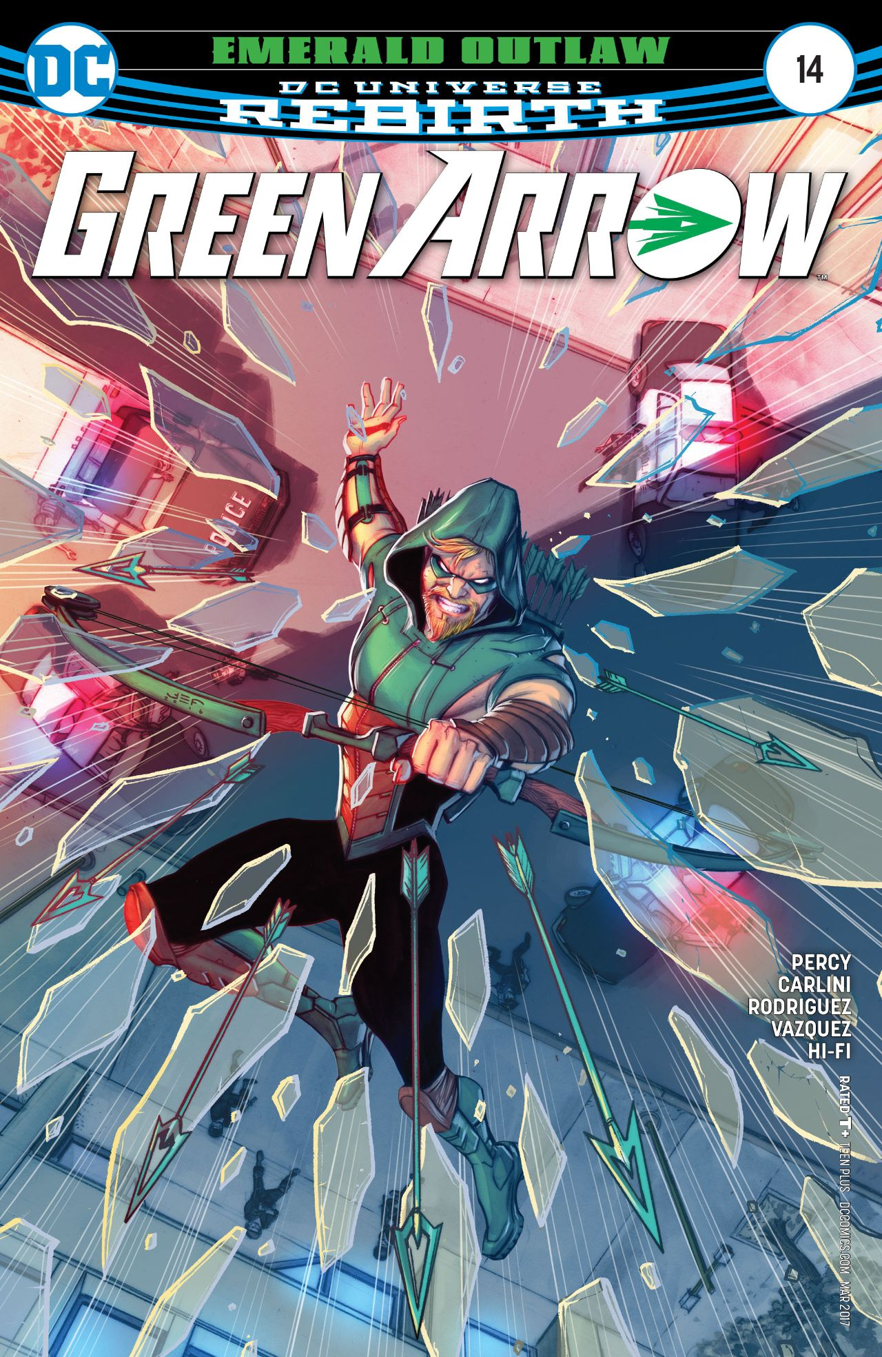 review GREEN ARROW #14