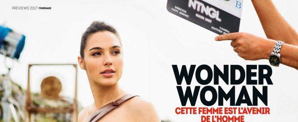 De nouvelles photos du tournage de Wonder Woman