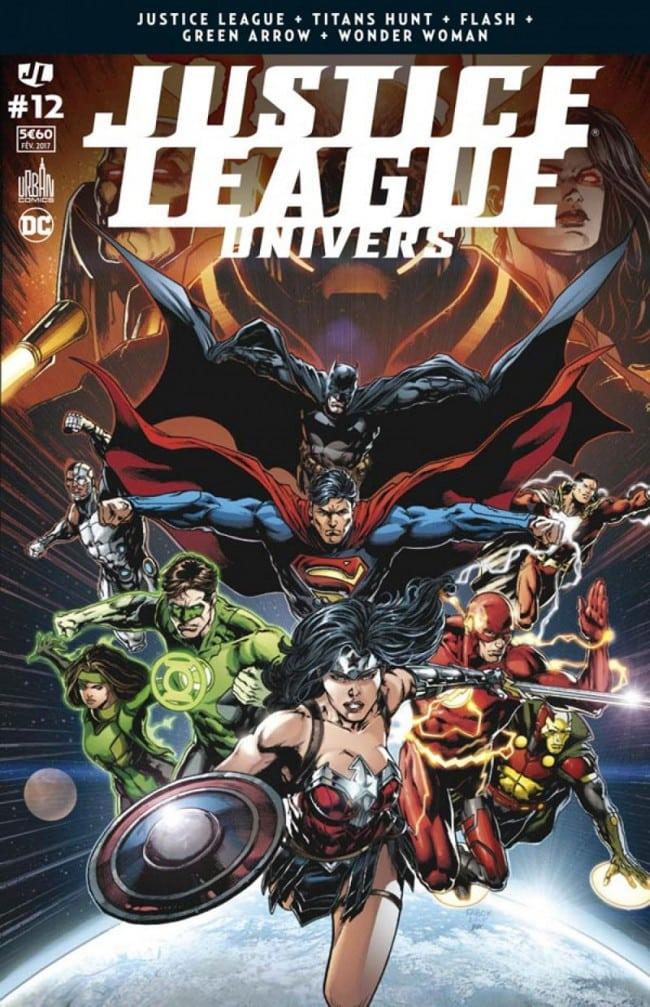 review Justice League Univers #12