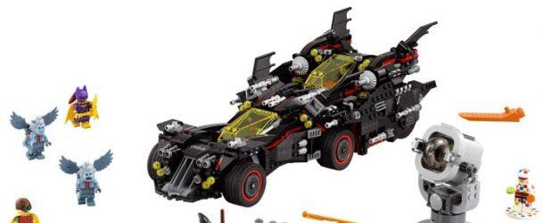Lego Batman dévoile un set